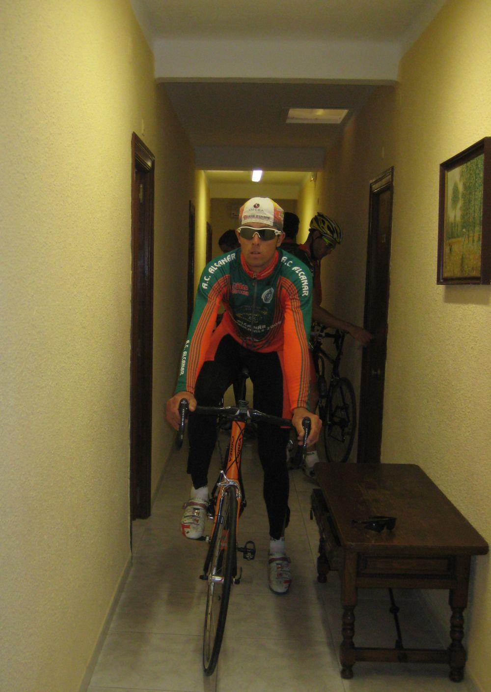 Ganas de bici hambre de bici hasta en los pasillos del for Viveros alcanar